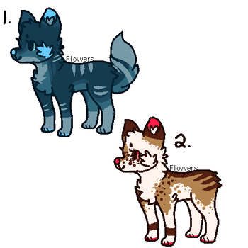 Themed Dog Adoptables AUCTION [CLOSED] by TangerineAdopts