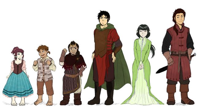 Another Adventuring Fellowship! by ReverseAlchemist