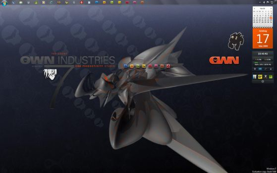 OWN INDUSTRIES + Windows 7 by Th3C0unt