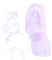 Collab with Queen_Of_Petals_Sketch by kogaswolftribebabe