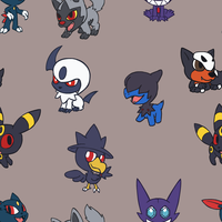 Chibi Dark Pokemon BG