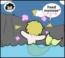 Mer!Oz demands food by Bayleef-