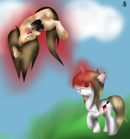 A.L and Fatili - Pony play time! by Lisica1213