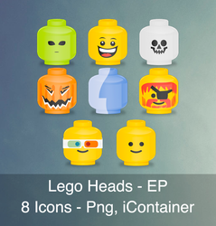 Lego Heads - EP by articZ3R0