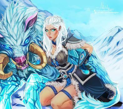 League of Legends: Sejuani by Hassly