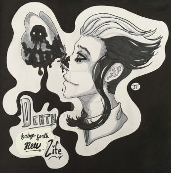 A Matter of Life and Death (Death) by JTellings