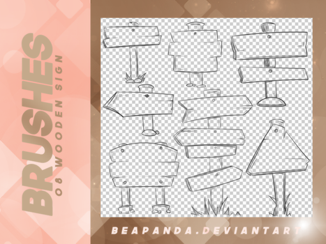 Brushes 025 // Wooden Sing by BEAPANDA
