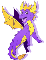 Spyro by superrandomstuff