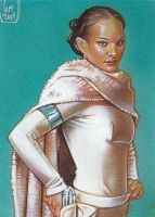 Padme 3 - Sketch Card by JeffLafferty