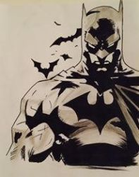 The Dark Knight by Lilmissandrea89