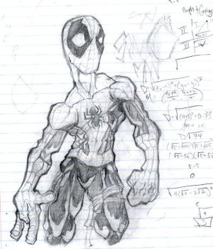 OLD spidey sketch by cereal199