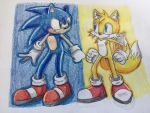 Sonic and Tails by MemealiciousMangos