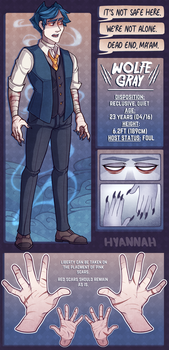 Wolfe Gray [ref] by Hyannah