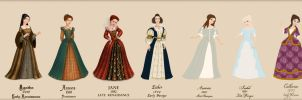 Fashion through the times by Arrelline