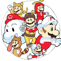 Super Mario Power-Ups by AlSanya