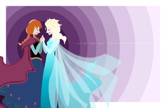 Frozen - I will be right here. by Sneaky-Snake