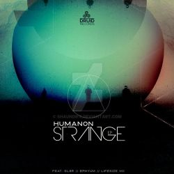 CD COVER : PROJECT (HUMANON - STRANGE EP) EXAMPLE by ShaundiFX