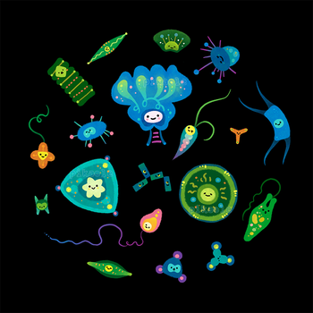 Phytoplankton by pikaole