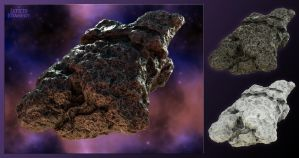 Laticis Imagery FREE Object - Asteroid by Laticis