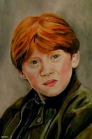 Ron Weasley by Nastyfoxy