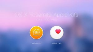 OS X Yosemite Home Kit and Health Kit by JasonZigrino