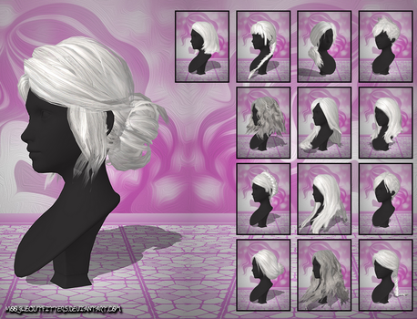 TW3 - Female Hairstyles (MoogleOutFitters) (XPS) by SonYume
