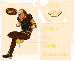 Sweet Factory Application - Lemon - by ThePandaCaffe