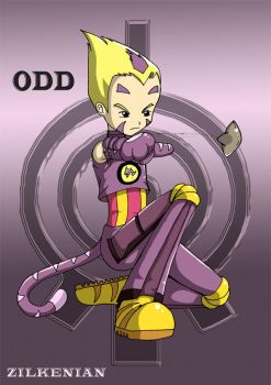 Odd Shoot Code Lyoko by Zilkenian