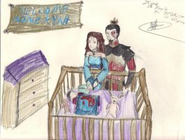 Zutara Week Day 1 Family by ArtFreak22-chan
