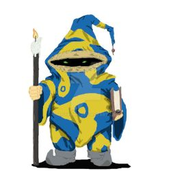 Rashok the Chaotic Evil Gnome Wizard 2 by MisterHix