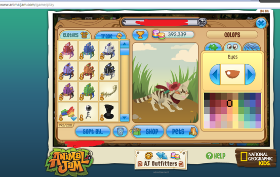 REUPLOAD: other proof of new animal on AJ by Enyaplz