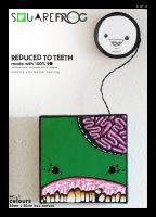 Reduced to TEETH: set1 04 green by SquareFrogDesigns
