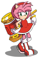 STH IDW - Amy Rose by EliHedgie95