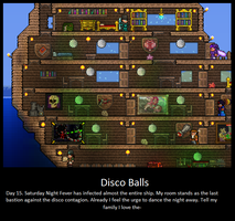 The 1970's Comeback. Terraria Players. by LittlewriterLink