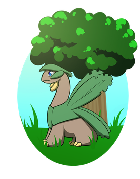 Treeop the Tropius - pkmnation by Brierose