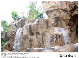 Rainforest Cafe Waterfall.2 by Della-Stock