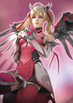 Pink Mercy by Snoopsahoy