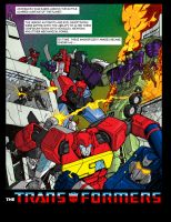 Marvel Transformers Tribute page 3 - colours by hellbat