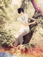 Ciel in wonderland cosplay by Minako880