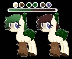 Moon- Nature MLP adopt (open) by SugarTea-Adopts