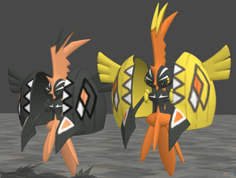 XPS Pokemon Sun and Moon Tapu Koko