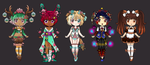 Plant Boy Auction Adopts+Art POINTS ONlY(CLOSED) by beautifulanddamaged