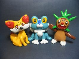Pokemon XY Starters