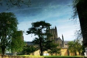 Reflecting Bishop's Green by Earth-Hart