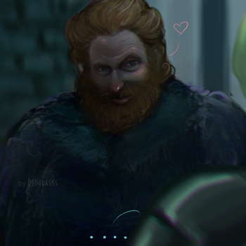 got tormund brienne by RedGrasss