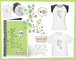 Earth Friendly Birdie Goodies by arwenita
