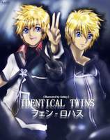 Identical Twins [Ventus and Roxas] by Avidityy