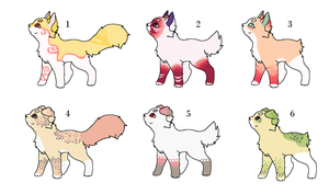 Pastel Babies (OPEN ADOPTABLES) by PoisonFate