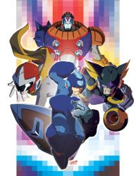 ROCKMAN-BLUES-FORTE-DUO by theCHAMBA