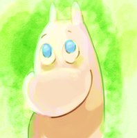 Moomintroll by NebulaDreams